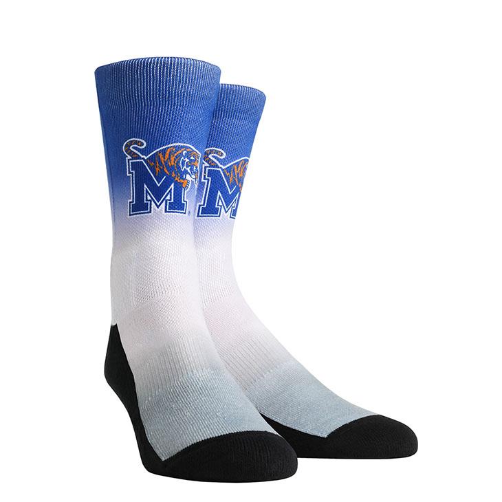 Memphis Tigers Socks University of Memphis Tigers Mayhem Crew Socks